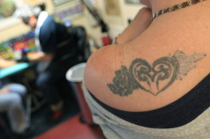 Ugly Tattoo Hall Of Shame  Photo by Kent Porter of the Press Democrat
