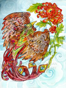 pheonix  shotsie gorman watercolor